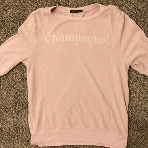 Wildfox Champagne Cozy Sweater